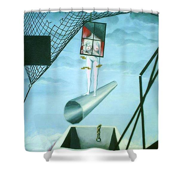 The Edge Shower Curtain