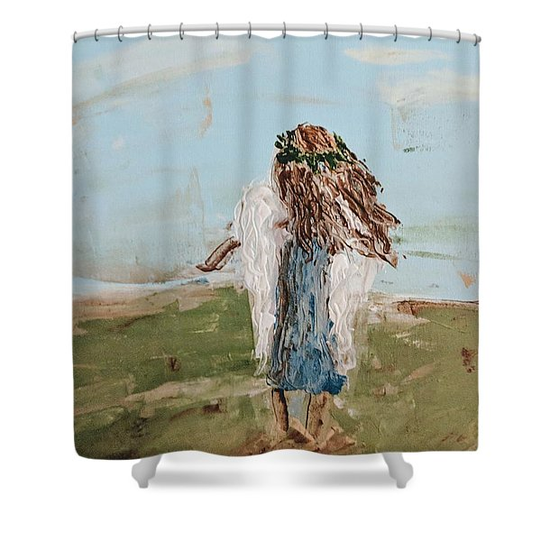 The Edge Of The Field Shower Curtain