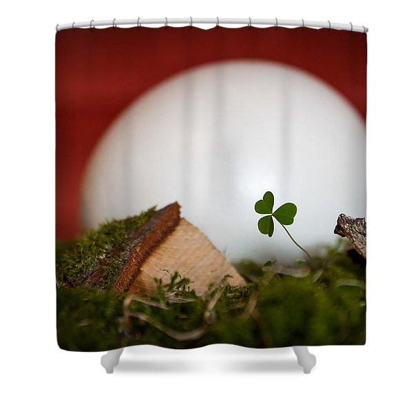 the egg - Happy Easter Shower Curtain