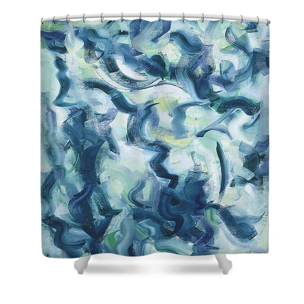 The Elements, Mergo Mers Shower Curtain