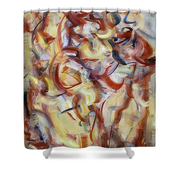 The Elements, Patior Pass Shower Curtain