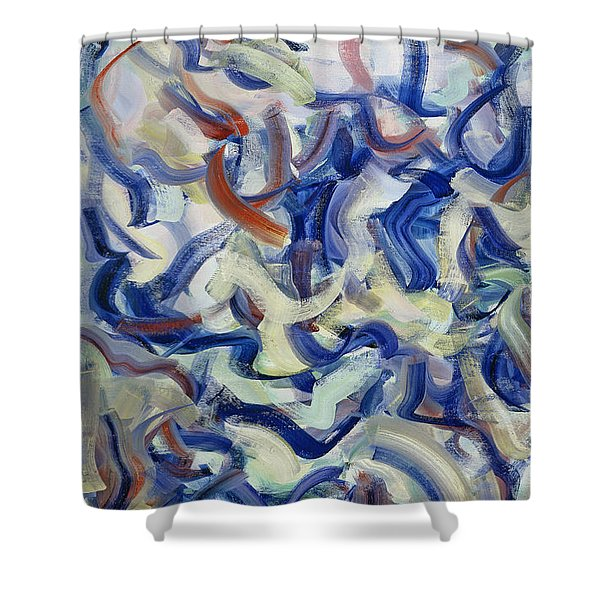 The Elements, Repose Shower Curtain