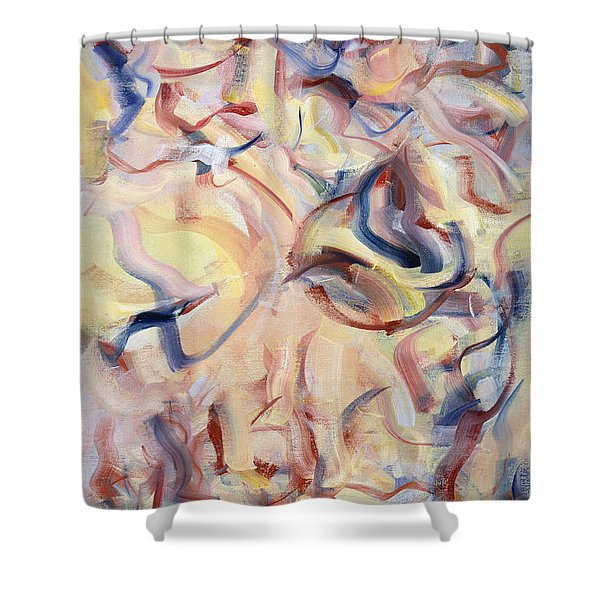 The Elements, The Breath Of Life Shower Curtain