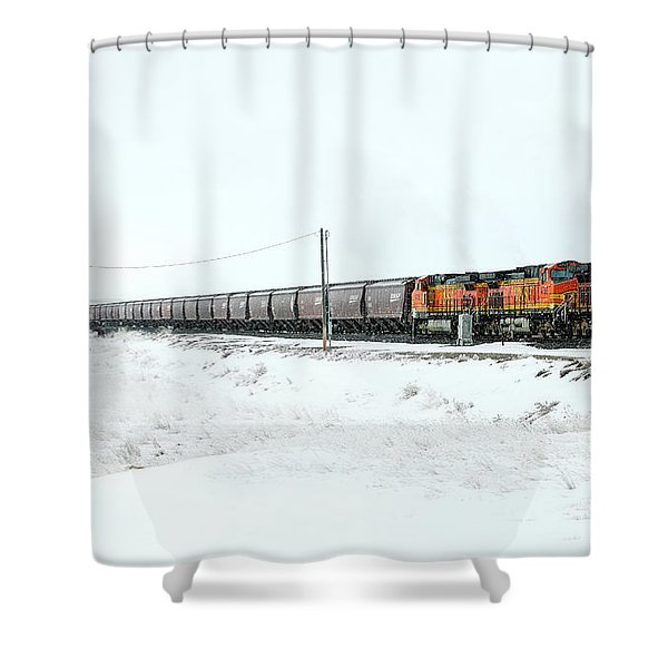 The Eleven Fifteen Shower Curtain