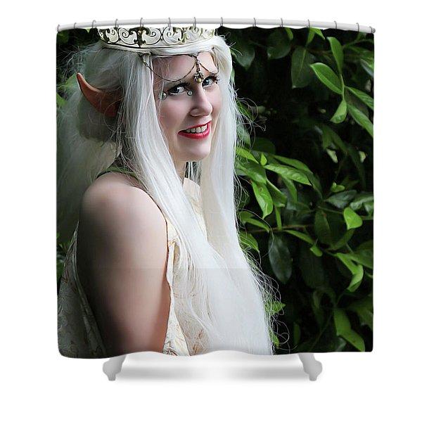 The Elven Queen Shower Curtain