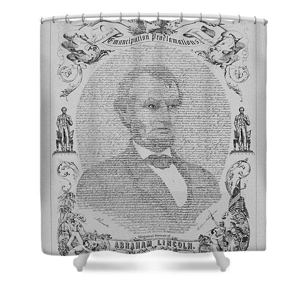 The Emancipation Proclamation Shower Curtain