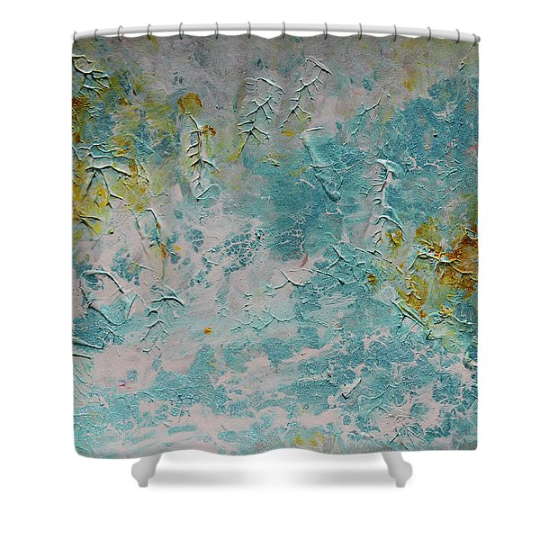 The End Of The Summertime Shower Curtain