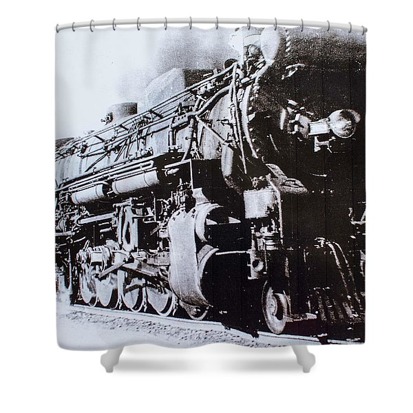 The Engine  Shower Curtain