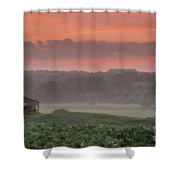 The English Landscape 2 Shower Curtain