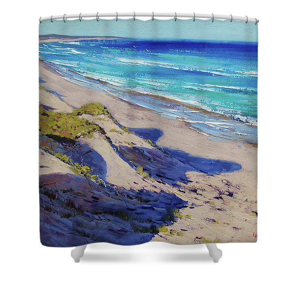 The Entrance Beach Dunes, Australia Shower Curtain