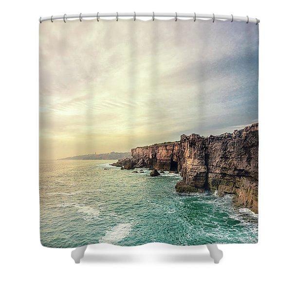 The Eternal Song Of The Ocean Shower Curtain