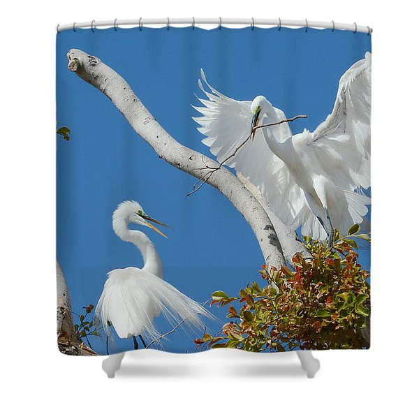 The Exchange 2 Shower Curtain
