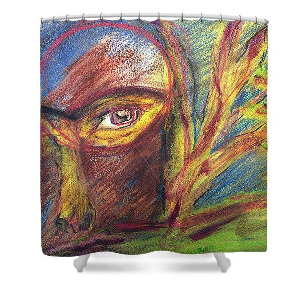 The Eye Shower Curtain
