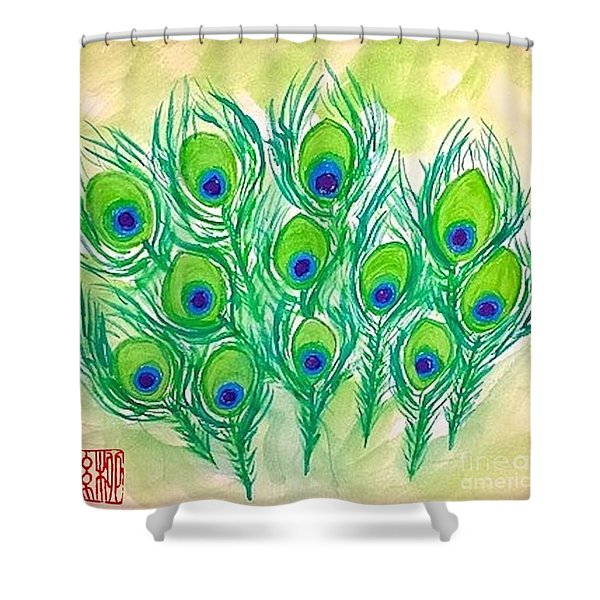 The Eyes Of The Stars Shower Curtain