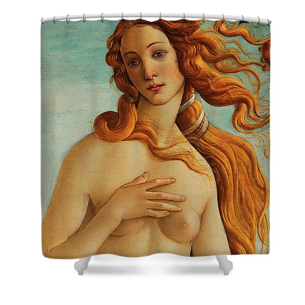 The Face Of Venus Shower Curtain