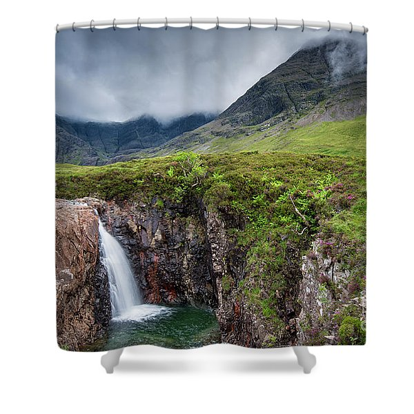 The Fairy Pools Shower Curtain