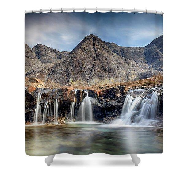 The Fairy Pools - Isle Of Skye 3 Shower Curtain