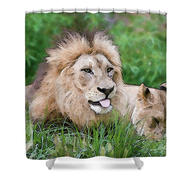 The Family Shower Curtain