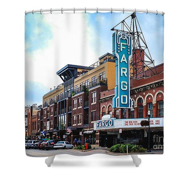 The Fargo Theater Shower Curtain