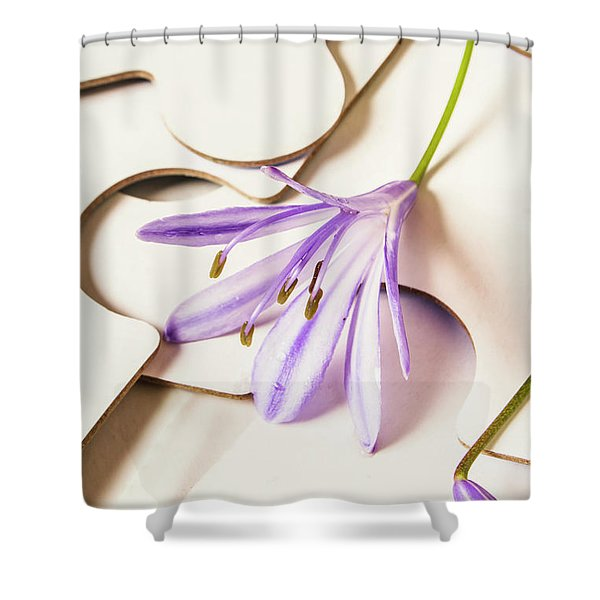 The Femininity Complexity Shower Curtain