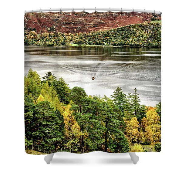 The Ferry Shower Curtain