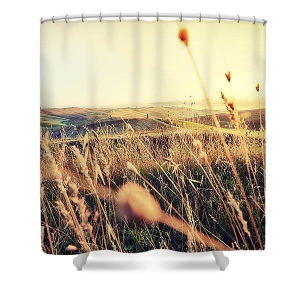 The Fertile Soil Shower Curtain