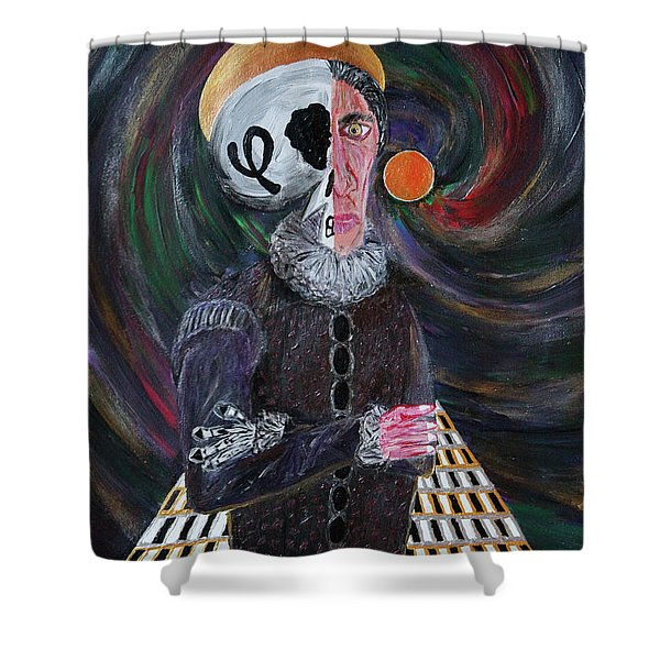 The Fffather Shower Curtain