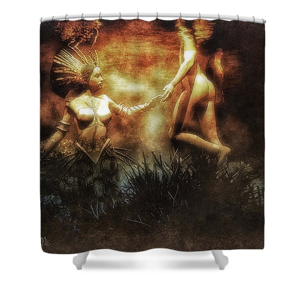 The Fishermen And His Soul Shower Curtain