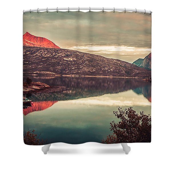 The Flames Shower Curtain