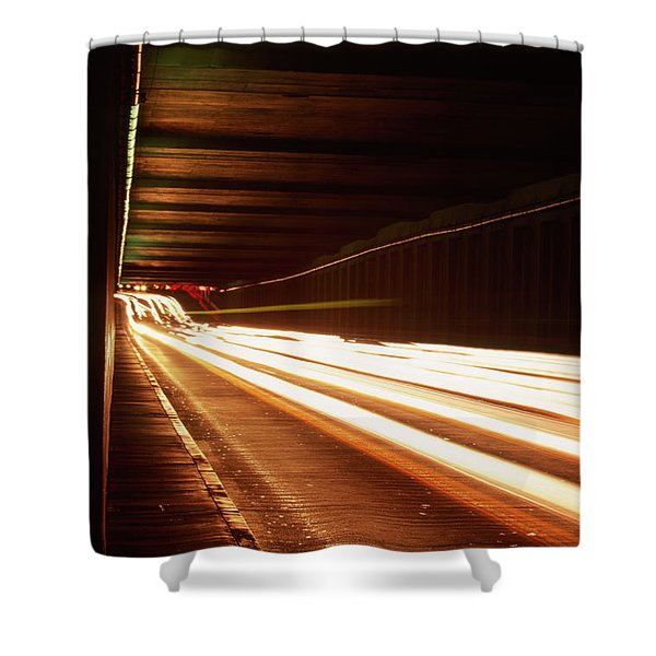 The Flow Of Traffic Shower Curtain