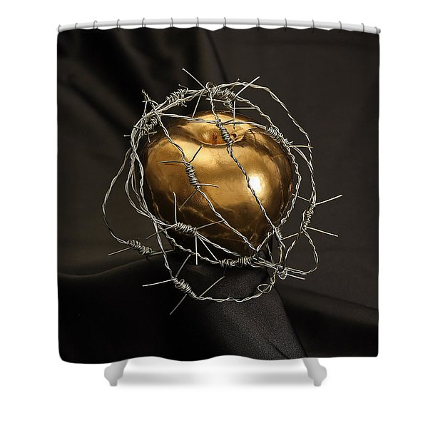 The Forbidden Fruit Shower Curtain