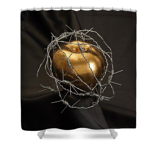 The Forbidden Fruit Shower Curtain