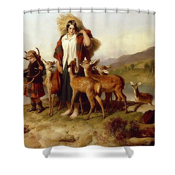 The Forester's Family Shower Curtain