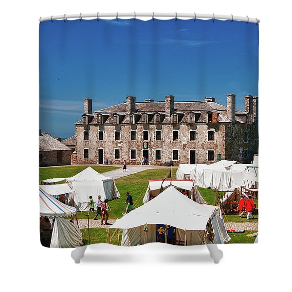 The French Castle 6709 Shower Curtain