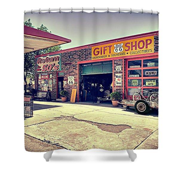 The Garage Shower Curtain