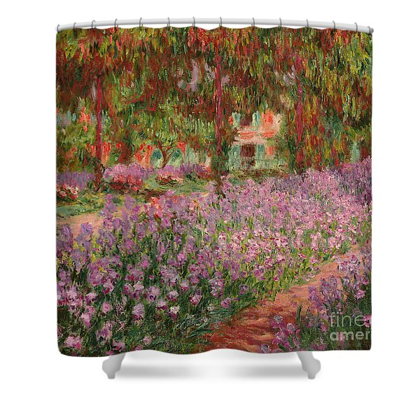 The Garden At Giverny Shower Curtain