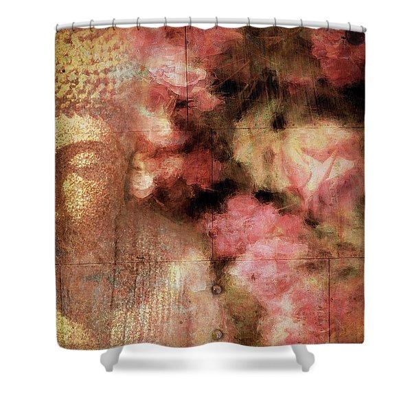 The Garden Buddha 1 Shower Curtain