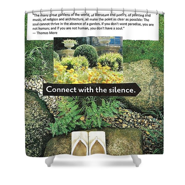 The Garden Of The Soul Shower Curtain