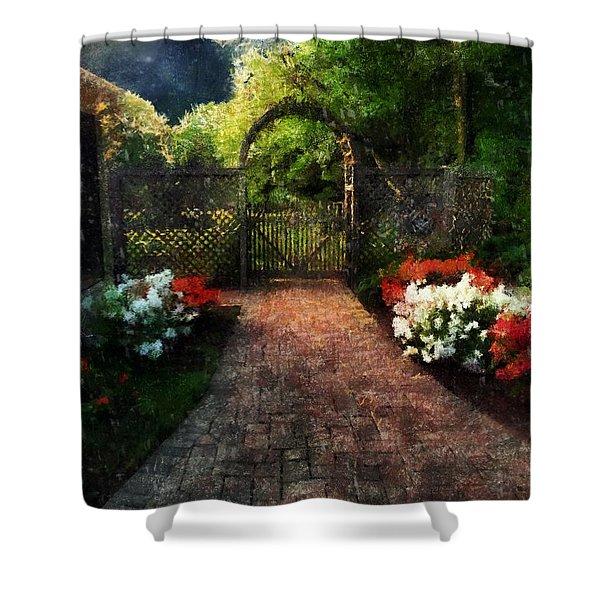 The Garden Path Shower Curtain