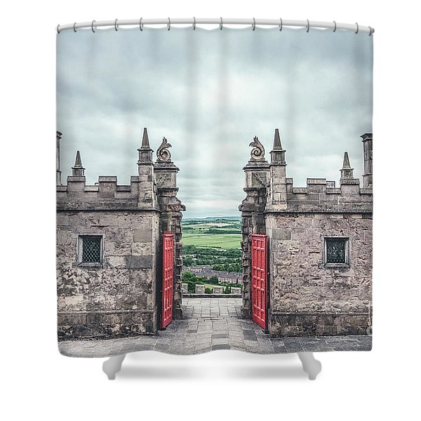 The Gate Of Evermore Shower Curtain