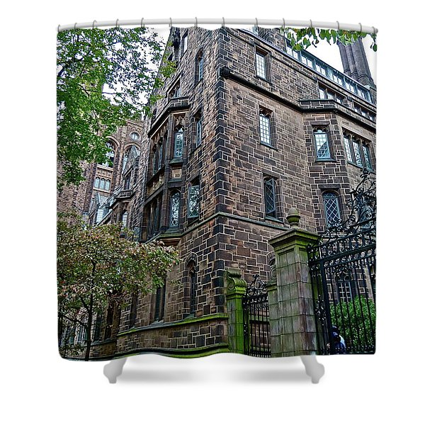 The Gates Of Yale Shower Curtain