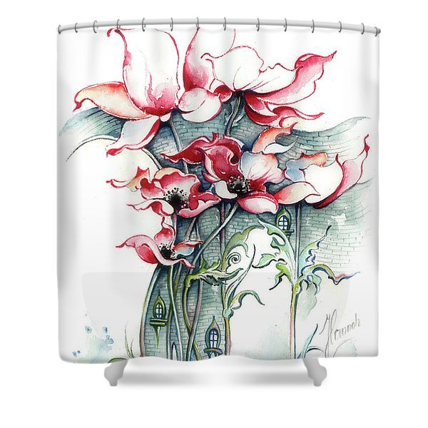 The Gateway To Imagination Shower Curtain