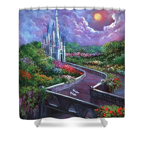 The Glass Slippers Shower Curtain
