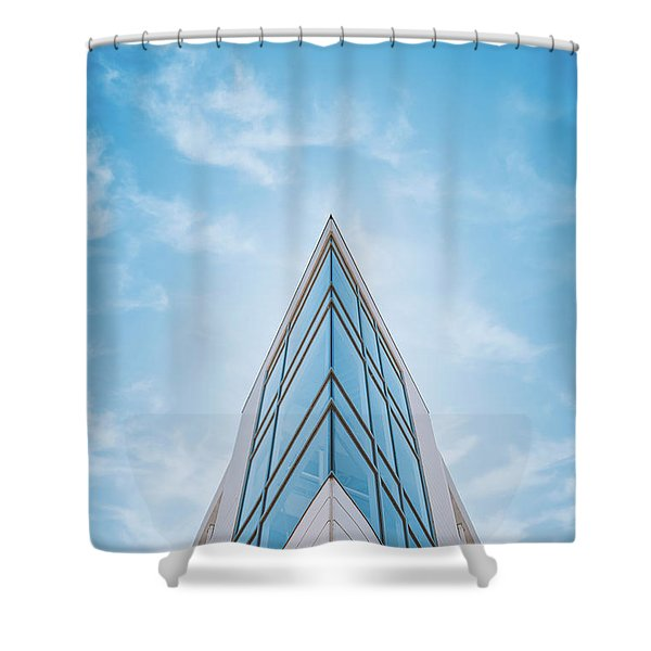 The Glass Tower On Downer Avenue Shower Curtain