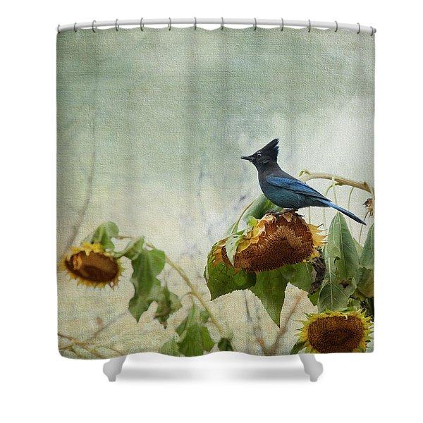 The Gleaner Shower Curtain