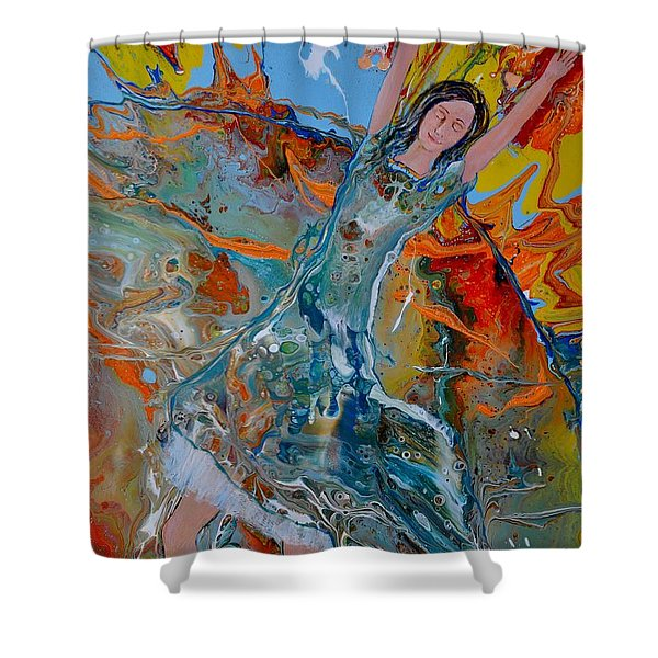 The Glory Of The Lord Shower Curtain