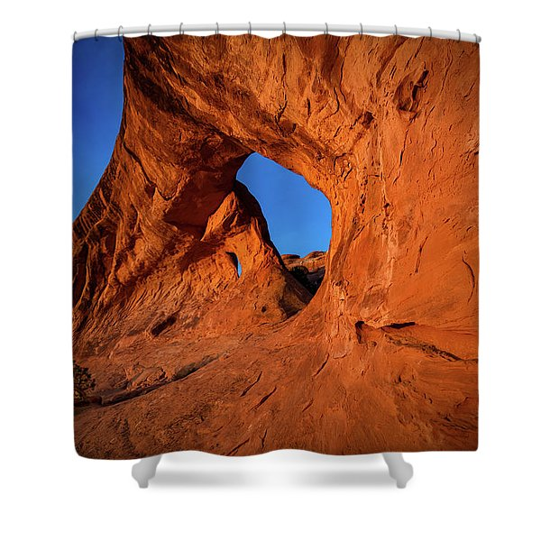 The Glow Shower Curtain