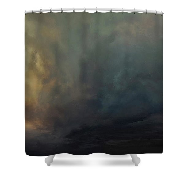 The Glowing Dream Shower Curtain