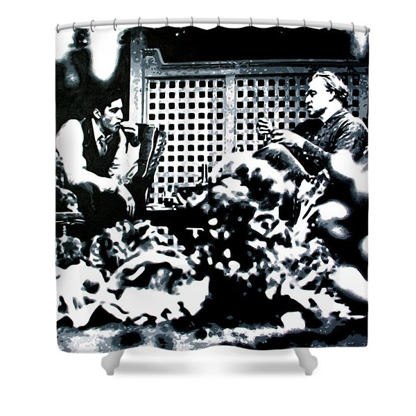 The Godfather 2018 Shower Curtain