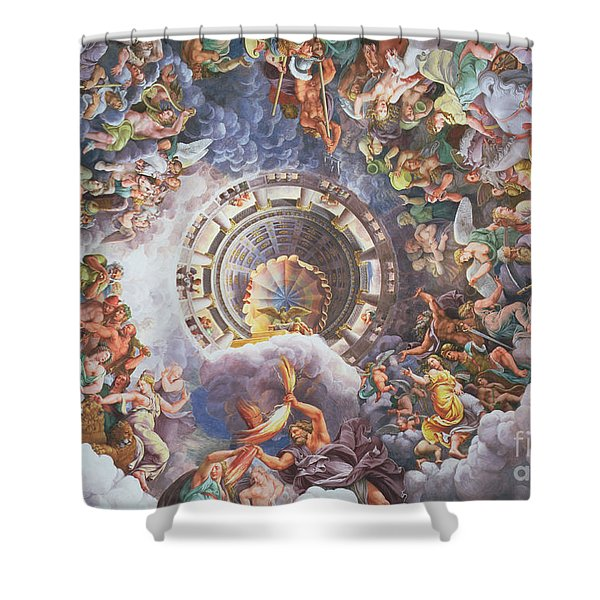 The Gods Of Olympus Shower Curtain